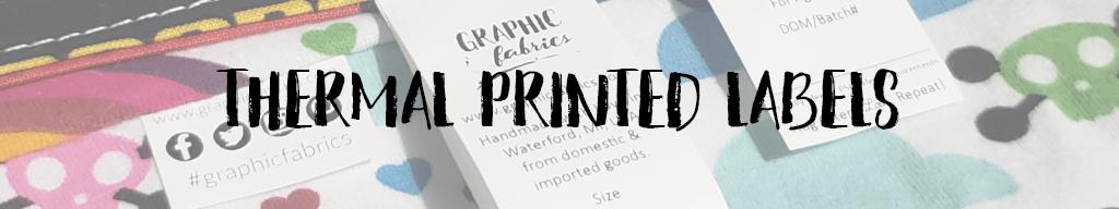 Thermal Printed Labels